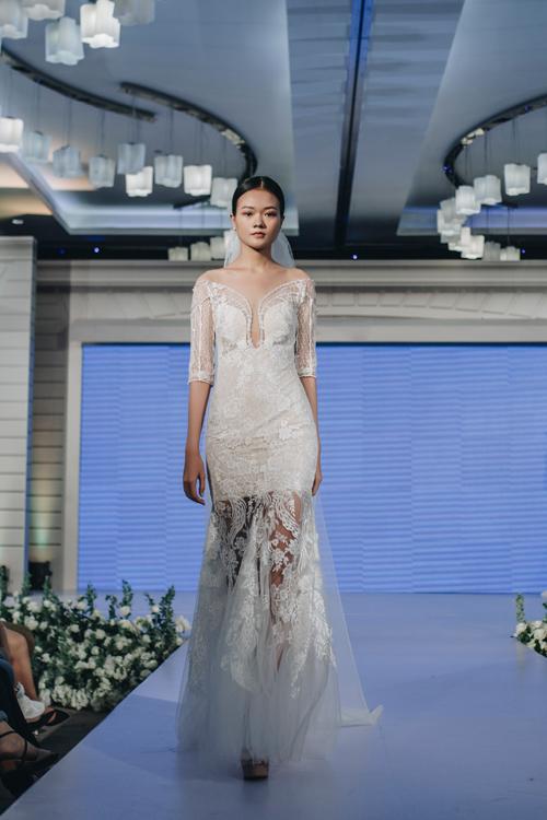 Váy cưới tối giản lấy cảm hứng từ hình trái tim - 11