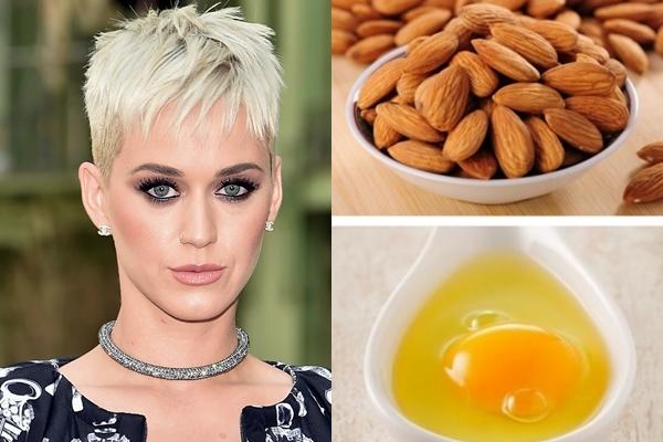 Mặt nạ chống lão hóa da yêu thích nhất của Katy Perry đơn giản chỉ là lòng trắng trứng và một chút tinh dầu hạnh nhân.