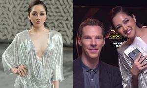 Bảo Anh mặc sexy đi gặp gỡ tài tử 'Doctor Strange'
