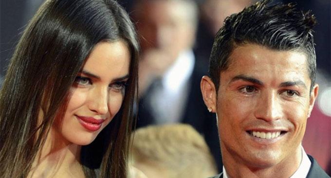 C. Ronaldo và Irina Shayk khi còn bên nhau. Ảnh: NS.