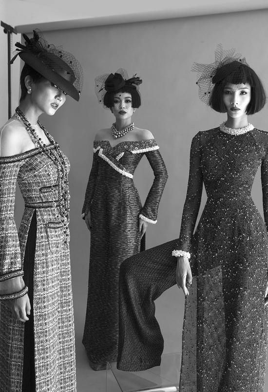 Công Trí muốn mang tới làn gió tươi mới cho áo dài và giúp nó xuất hiện nhiều hơn trong nhịp sống hiện đại.
