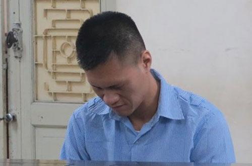 Bị cáo Nguyễn Hải Đăng tại phiên tòa sơ thẩm.