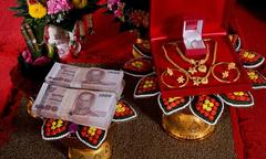 Dịch vụ cho thuê của hồi môn vào ngày cưới nở rộ ở Thái Lan