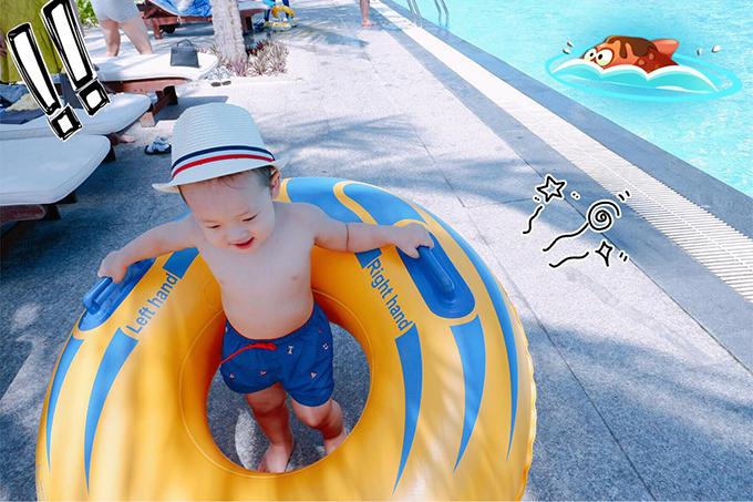 Các fan đua nhaukhen Khoai Tây càng lớn càng đẹp trai, đáng yêu. Nhiều người thổ lộ trông ngóng từng ngày để được xem hình ảnh mới của con trai Khánh Ly.