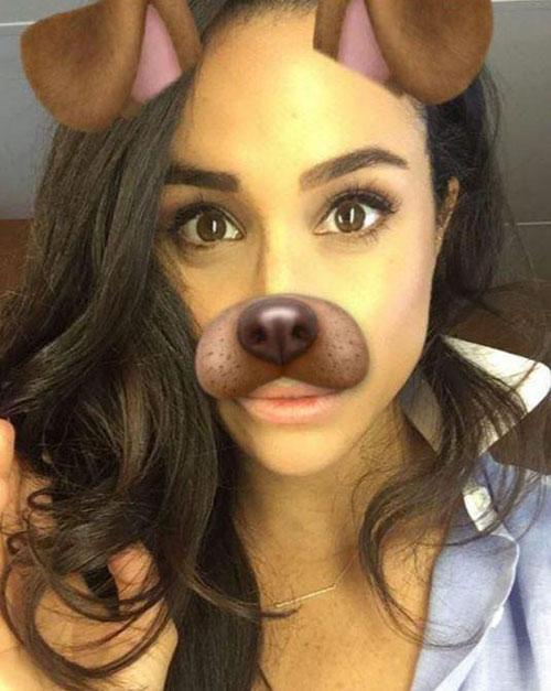 Meghan sẽ không được đăng những bức ảnh selfie hoặc wefie cùng người khác.