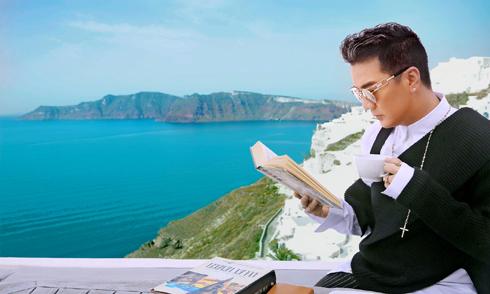 Mr. Đàm bị 'hớp hồn' bởi vẻ đẹp của hòn đảo Santorini