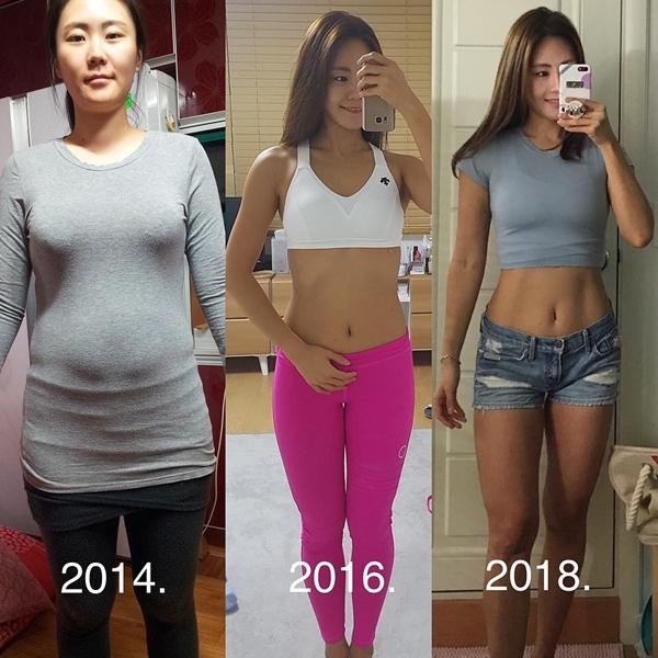 Cloe Kim, 36 tuổi, là huấn luyện viên thể hình kiêm người mẫu cho một số tạp chí thời trang nổi tiếng tại Hàn Quốc. Nhìn vóc dáng hiện tại của Cloe, ít ai nghĩ rằng trước đó cô từng