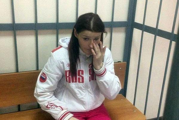 Krysova hiện đã bị tống giam.