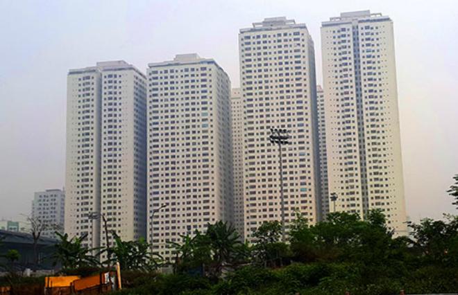 Tổ hợp chung cư HH Linh Đàm. Ảnh: Phương Sơn
