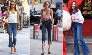 Gợi ý cách mix quần jeans ống vẩy đẹp đúng điệu