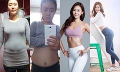 Từng 'bụng to hơn ngực', cô gái Hàn lột xác nhờ 3 bí quyết đơn giản