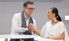 Đoan Trang kể chuyện chồng Tây đeo nhẫn vào râu tôm hùm, cầu hôn cô