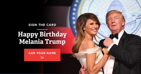 Hình ảnh cặp vợ chồng trong bức email kêu gọi mọi người ký tên chúc mừng sinh nhật của tổng thống Mỹ. Ảnh:http://unityfeed.com