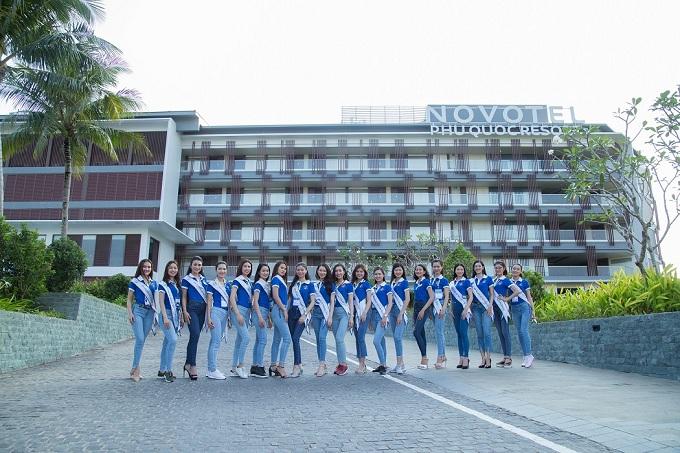 Thí sinh Hoa hậu Biển Việt Nam toàn cầu 2018 tới thiên đường nghỉ dưỡng Phú Quốc