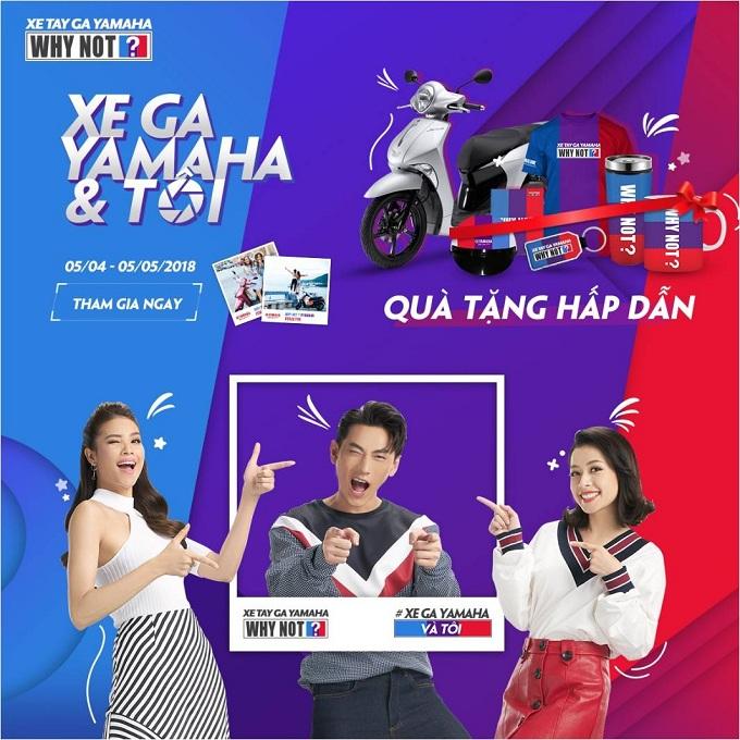 Cuộc thi 'Tỏ tình cùng xe ga Yamaha' thu hút giới trẻ