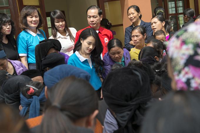 Ngay sau khi nhận vai trò Đại sứ, Nhã Phương đã có những hoạt động đầu tiên.