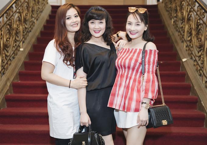 Hoa Thúy, Vân Dung và Bảo Thanh là những gương mặt được đông đảo khán giả phía Bắc yêu mến.