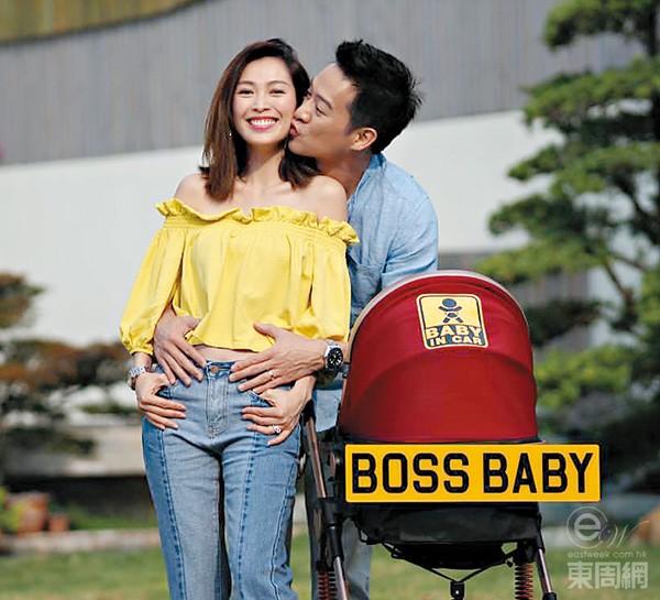 Vợ chồng Hoa hậu Hoa kiều 2007 khoe tin vui trên mạng xã hội.