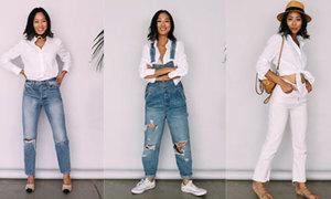 8 cách diện một chiếc áo sơ mi trắng sành điệu