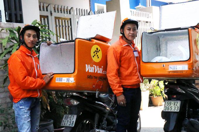 Chương trình giao hàng 1 giờ được áp dụng tại 3 website: thegioididong.com, dienmayxanh.com và vuivui.com