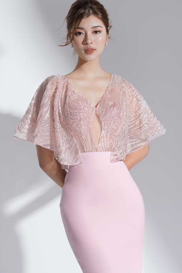 Xây dựng vẻ đẹp tiểu thư với váy đi tiệc dáng ngắn - 5