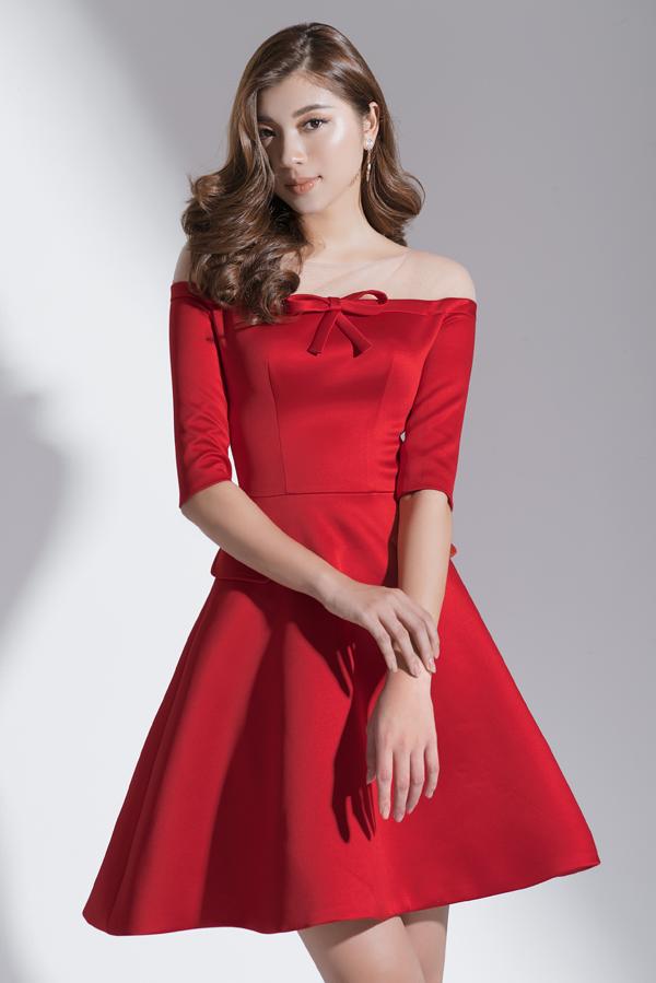 Xây dựng vẻ đẹp tiểu thư với váy đi tiệc dáng ngắn - 3