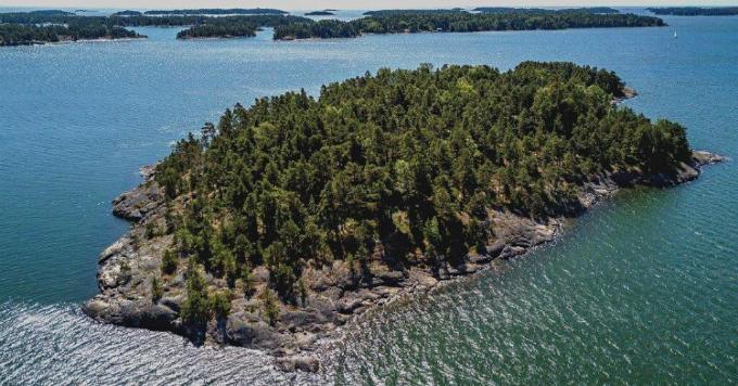 Đảo SuperShe, Phần Lan.Ảnh: Kristina Roth
