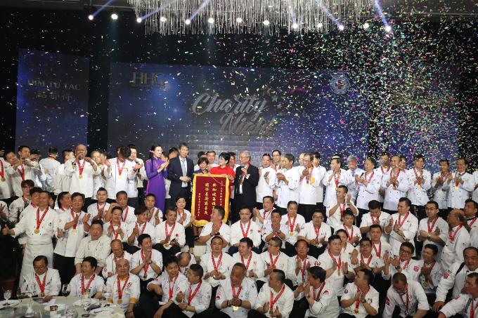 Hiệp hội Đầu bếp quốc tế tổ chức tiệc từ thiện 'Đêm nhân ái'