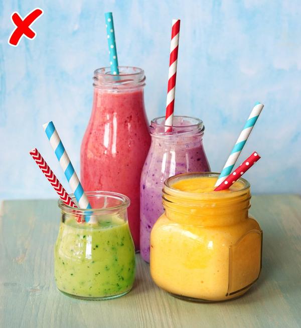 Hạn chế đồ uống chứa nhiều calories