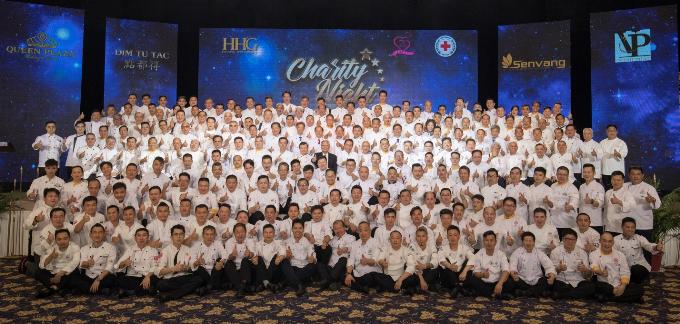 Dạ tiệc Đêm nhân ái là hoạt động từ thiện tiếp nối chuỗi hành trình nhân ái của Hiệp hội Đầu bếp quốc tế năm 2018 tại Việt Nam, nhằm hỗ trợ trẻ em mồ côi, bị bỏ rơi và có hoàn cảnh đặc biệt tại Làng Hòa Bình  Bệnh viện Từ Dũ.Chương trình được tổ chức bởi Hiệp hội Đầu bếp quốc tế và Công ty cổ phần TMDV Hoàng Hải.