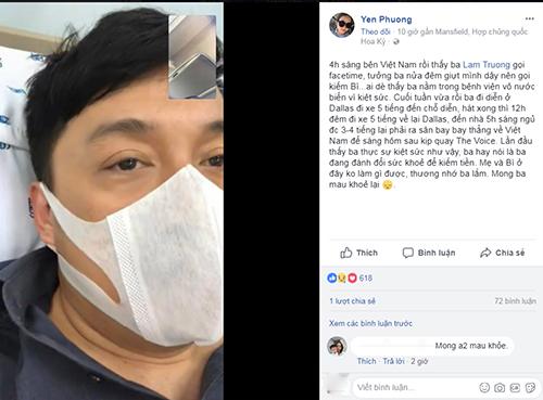 Lam Trường kiệt sức phải nhập viện vì chạy show nhiều.