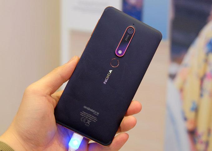 Nokia 6 mới được cải thiện về tốc độ, nâng cấp tính năng Dual-sight. Ảnh: TA.