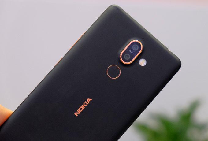 Nokia 7 Plus sở hữu camera kép. Ảnh: TA.