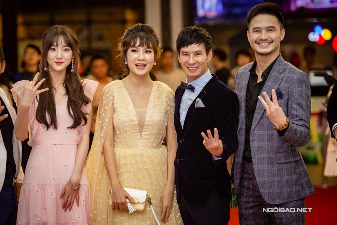 Bà xã Lý Hải chính là người phát hiện ra Nene và mời cô sang Việt Nam quay phim.