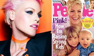 Vẻ đẹp cá tính của Pink được tạp chí People vinh danh