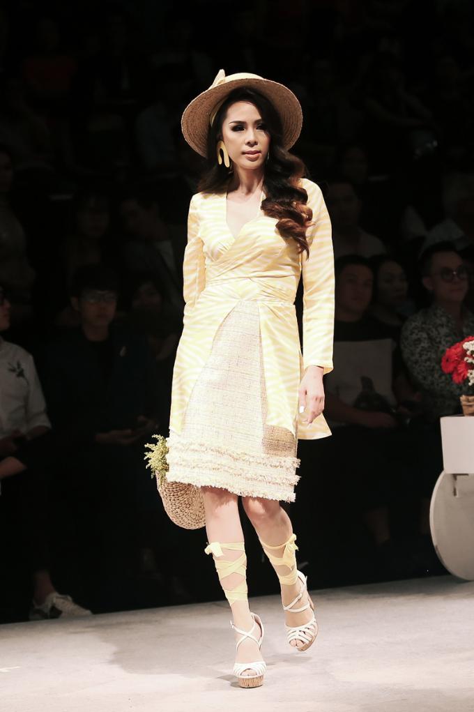 Hoa hậu Phương Lê làm vedette trong show diễn của Weill