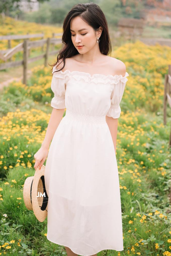 Đẹp dịu dàng với BST Sunny của JM Dress Design