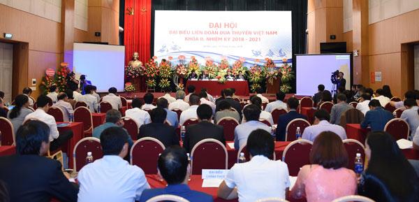 Đại hội BCH Liên đoàn Đua thuyền khóa II đặt mục tiêu phát triển toàn diện môn Đua thuyền Việt Nam trong thời gian tới.