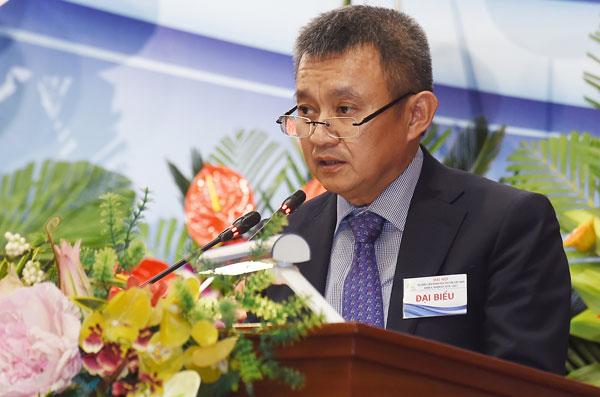 Tân Chủ tịch Liên đoàn Đua thuyền Việt Nam khóa II Ông Dương Trí Thành, t