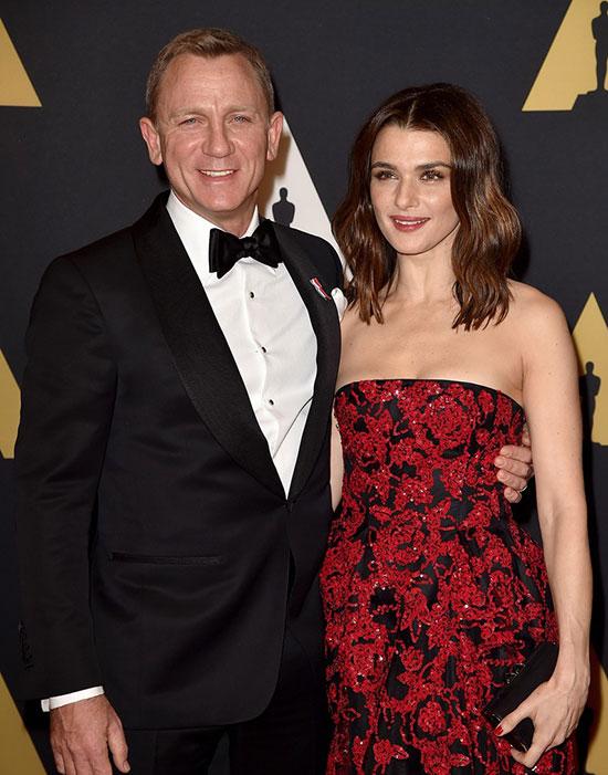 Vợ chồng Daniel Craig - Rachel Weisz.
