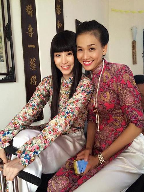 Ngân Khánh và Dương Mỹ Linh