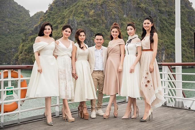 Chiều ngày 20/4 show diễn giới thiệu bộ sưu tập Mặt trời phương đông của Lê Thanh Hoà đã được tổ chức trên du thuyền 5 sao tại Vịnh Hạ Long.