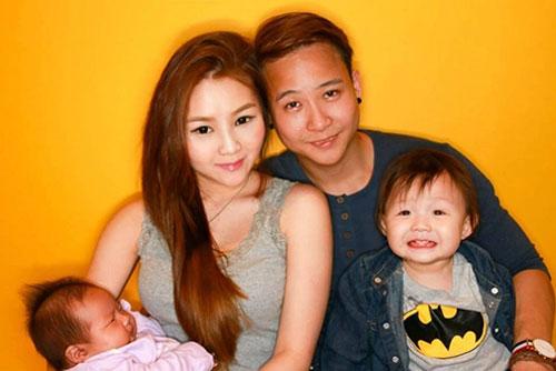 Cặp vợ chồng trẻ đã có hai con trong vòng gần 2 năm.