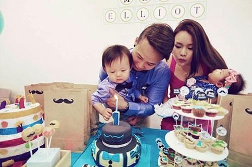 Khi con trai đầu lòng của vợ chồng Jieying tròn 1 tuổi, cậu bé đã làm anh.