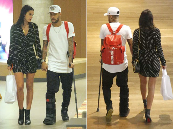 Neymar và Bruna Marquezine