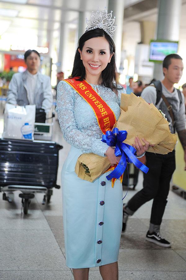 Châu Bích Ngọc vừa đăng quang ngôi vị cao nhất của cuộc thi Hoa hậu Doanh nhân Hoàn vũ 2018 tại Nhật Bản (Ms Universe Business 2018) diễn ra vào giữa tháng 4. Sau đêm chung kết, người đẹp tiếp tục tham gia những hoạt động bên lề và mới trở về Việt Nam.
