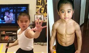 Cậu bé người Nhật luyện tập 5 tiếng mỗi ngày để giống Lý Tiểu Long