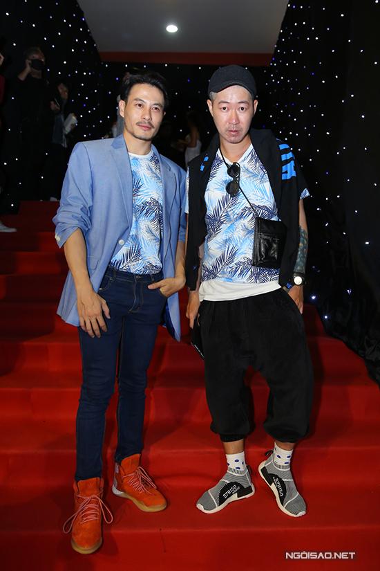 Hai nhà thiết kế Võ Công Khanh và Trương Thanh Long.