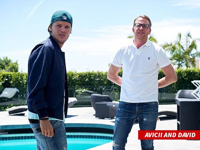 Avicii và anh trai, David Bergling.