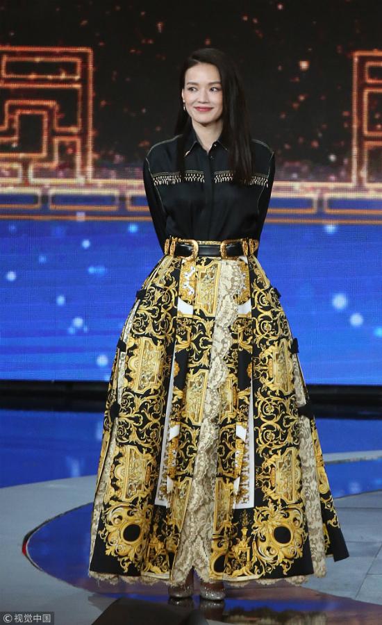 Thư Kỳ thay liên tiếp 3 bộ váy trong một tối dự Liên hoan phim - 5